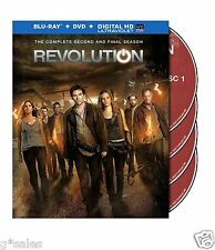 Revolution Complete Second Season 2 Two ~ NEW 9-DISC BLU-RAY DVD & DIGITAL COPY