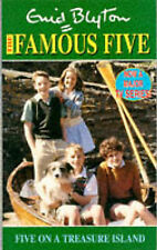 Five on a Treasure Island (The Famous Five TV tie-ins), Enid Blyton