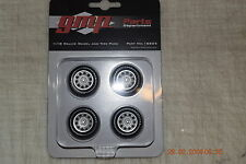 1:18 GMP RALLYE WHEEL AND TIRE PACK - PART # 18825 - CHEAPEST POSTAGE ON EBAY