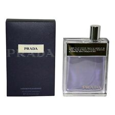 Prada Cologne by Prada, 3.4 oz EDT Spray for Men (Amber) NEW