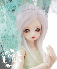 1 6 6-7 Dal Msd BJD YOSD Wig LUTS DOC BB supper Dollfie Doll White Toy wigs
