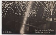 Germany, Illuminations, Wilhelmshaven Naval RP Postcard, B584