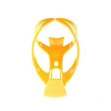 Yellow Bike Bicycle Drink Water Bottle Cup Holder Mount Cage Polycarbonate DL