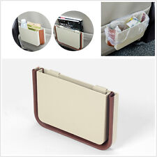 Universal New Car Seat Back Multifunction Trash Bin Garbage Dust Box Retractable