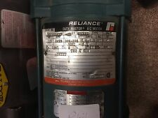 Reliance 3 Phase Motor 1/3 HP 3450 RPM  208-230/460