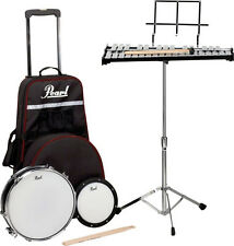 Pearl PL-900C Student Educational Concert Band Percussion Snare Drum / Bell Kit