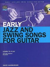 Early Jazz And Swing Songs Learn to Play Avalon Pop Guitar TAB Music Book