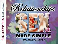 Releationships Sex Made Simple - 4 Cds Dr. Myles Munroe