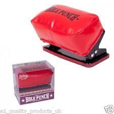 Punchbag Hole Punch, Mens Novelty Gift, Brand New, To eliminate stress at work!