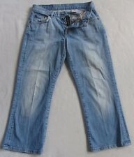 Lucky Brand Women's Stretch Easy Rider Cropped Capri Light Wash Jeans - Size 0