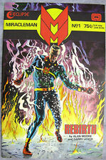 Miracleman #1 Aug 1985 Eclipse Copper Age Comic Alan Moore UNREAD BIG PICS!