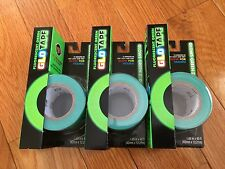 NEW Oglo Fluorescent GREEN Glo Tape Glow In the Dark x 3 ROLLS - SAVE 25%