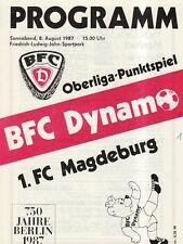 OL 87/88  BFC Dynamo Berlin - 1. FC Magdeburg