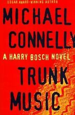 TRUNK MUSIC by Michael Connelly (1997, Hardcover 1st Edition) -Free Shipping