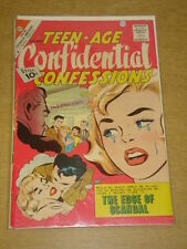 TEEN-AGE CONFIDENTIAL CONFESSIONS #8 G/VG (3.0) CHARLTON COMICS SEPTEMBER 1961