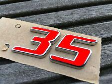 GOLF 6 VI GTI EDITION 35 Sticker ROSSO ADESIVO EMBLEMA LOGO