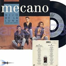 "MECANO ""DIS-MOI LUNE D'ARGENT"" RARE 45RPM FRENCH SUNG"