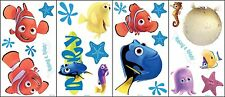 Disney ~ Finding Nemo ~ 23 Wall Decals ~ Reusable Self - Stick Stickers ~ NIP