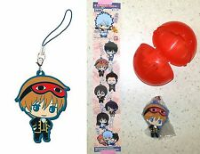 Gintama Capsule Rubber Mascot Okita Sougo Bandai Gashapon Sunrise Licensed