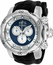 20440 Invicta 52mm Venom Sea Dragon Swiss Quartz Chrongraph Silicone Strap Watch