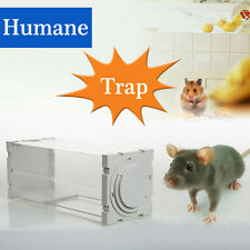 Humane Mice Rat Trap Handled Rodent Animal Mouse Catch Alive Bait Control Bottle