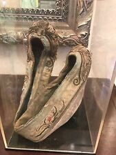 Antique Princess Shoes Very Rare Asian Chinese Japanese Museum Quality HTF