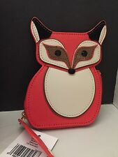 Kate Spade New York Blaze A Trail FOX Coin Purse, NWT