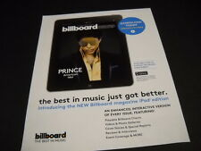 PRINCE the best in music just got better 2013 PROMO DISPLAY AD