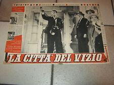 FOTOBUSTA 1955,La città del vizio,Phenix City Story,Phil Karlson,McIntire,Grant