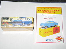 FRENCH DINKY ATLAS OPEL KADETT #540 (Mint/Sealed)