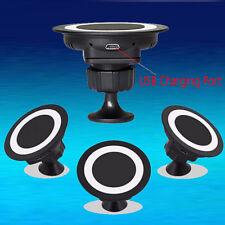Qi Wireless Caricabatteria Da Auto Dock Piattaforma Di Ricarica Rotazione 360°