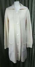 Gap Lambswool/Cashmere Long Cardigan Coat - L (approx UK10-12) EXCELLENT COND