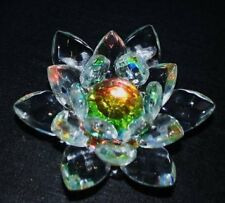 BEAUTIFUL CRYSTAL LOTUS / KAMAL FLOWER –  FENG SHUI / VASTU - SMALL