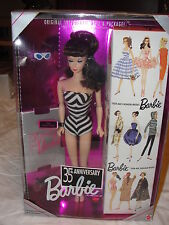 1959 Reproduction 35th Anniversary Barbie Doll  BLONDE (inv#068)