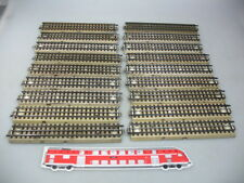 AD338-2# 18x Märklin/Marklin H0/00 m track/Track piece/Rails for 3600/800