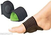 FOOT ARCH SUPPORT - FALLEN ARCHES - HEEL PAIN -PLANTAR FASCIITIS COMFORT CUSHION