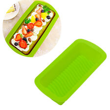 1PC Silicone Rectangle Stick Non Bread Cake Loaf Mold Bakeware Baking Pan Mould