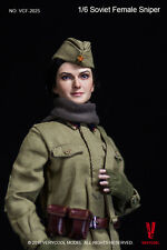 Very Cool WWII USSR Soviet Russian Female Sniper 1:6 Boxed Figure #VCF-2025