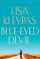 Blue-Eyed Devil, Lisa Kleypas, Good Condition, Book