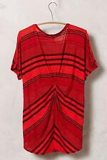 NIP Anthropologie Stripeform Tee Sz M Size 8 10 Medium New Top by Stateside