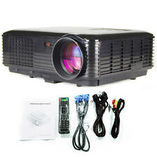 Highest Ratio Home Cinema HD 1080P LED LCD Projector 3D 3500lumens TV USB HDMI