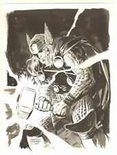 Thor Commission - 2010 Signed art by Gabriel Hardman