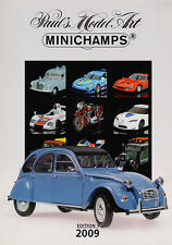 Paul's Model Art Minichamps Model Catalogue all Scales Diecast 2009 - Edition 1