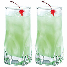 Set of 2 47cl Hi-Ball Tumblers Bar Drinks Party Tall Drinking Glasses Cocktail