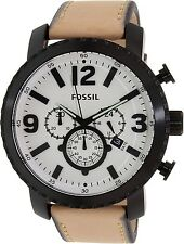 Fossil Men's Gage BQ2051 Brown Leather Quartz Watch