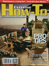 Extreme How-To Home Improvement Pro Tips Organize  Jul/Aug 2015 FREE SHIPPING