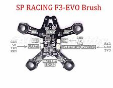 SP Racing F3 EVO Brush PDB flight Controller with Self Quadcopter Frame for FPV