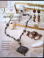 Vintage Impressions Jewelry Project Book Terry Ricioli New OOP
