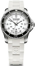 NEW Victorinox Ladies Maverick GS with Calendar and White Strap 241491