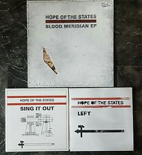 "HOPE OF THE STATES Blood Meridian 10"" + Sing It Out & Left 7"" NM FREE POST"